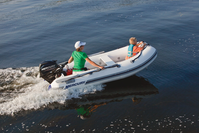 Mercury 320 Air Deck Inflatable Boat